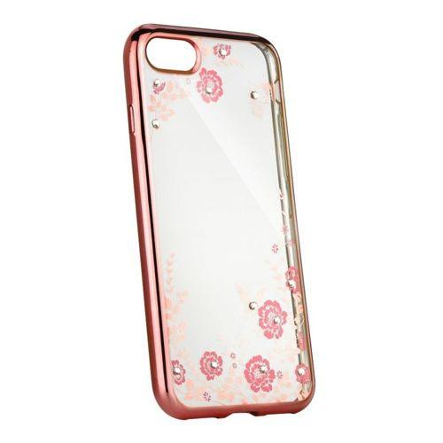 Etui XIAOMI REDMI 8 elastyczne żelowe Back case flower jasny róż