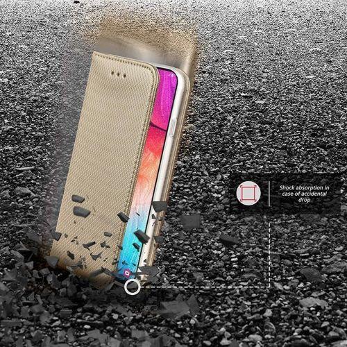 Etui XIAOMI REDMI NOTE 8 Flip Magnet portfel z klapka złote