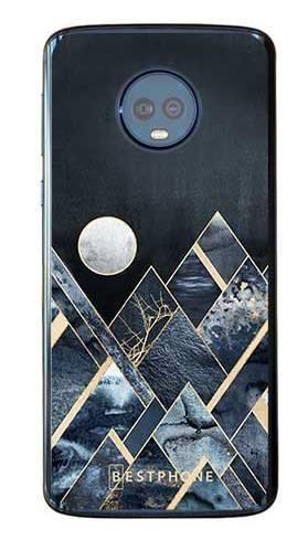 Etui art deco szczyty na Motorola Moto G6 Plus
