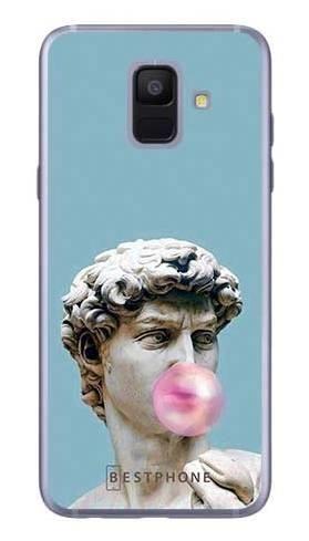 Etui dawid z gumą na Samsung Galaxy A6
