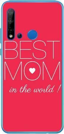 Etui dla mamy best mom na Huawei P20 Lite 2019