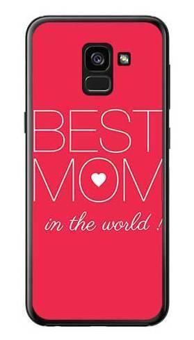 Etui dla mamy best mom na Samsung Galaxy A7 2018
