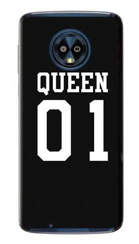Etui dla par queen 01 na Motorola Moto G6