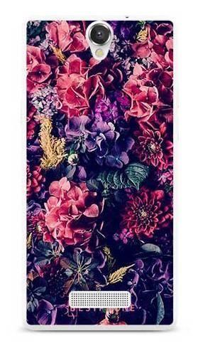 Etui kwiatowa kompozycja na MyPhone Cube