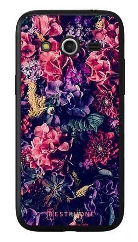 Etui kwiatowa kompozycja na Samsung Galaxy Core LTE