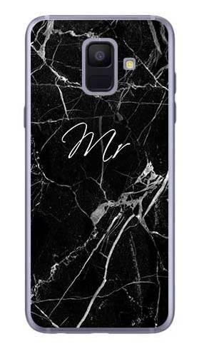 Etui na ślub mr marmur na Samsung Galaxy A6