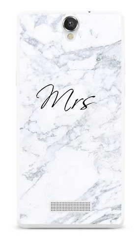 Etui na ślub mrs marmur na MyPhone Cube