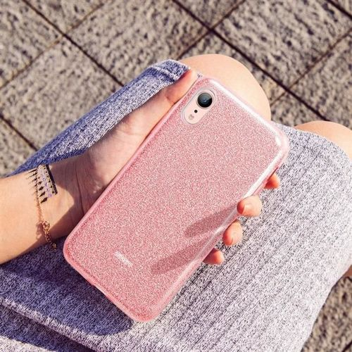 Etui pokrowiec ESR GLITTER SHINE IPHONE XR ROSE GOLD