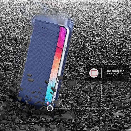 Etui portfel Flip Magnet LG K30 granatowe