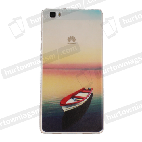 Etui slim case art SAMSUNG G920 S6 łódka
