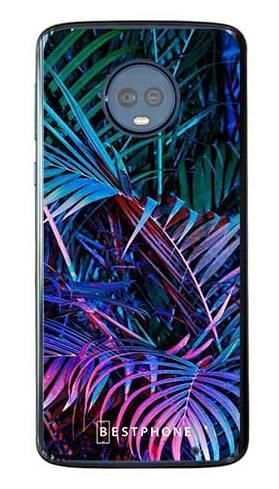 Etui tropikalne fluo na Motorola Moto G6 Plus