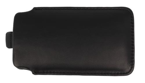 Etui wsuwka skórzana SAMSUNG I9000/NOKIA N610 czarne