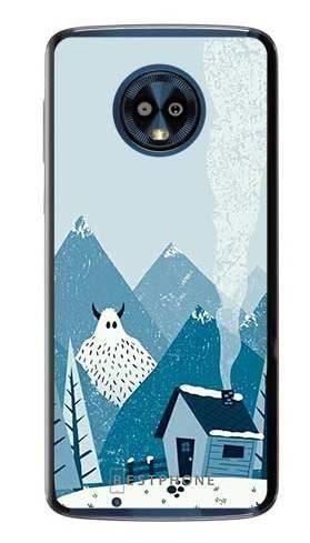 Etui yeti i góry na Motorola Moto G6