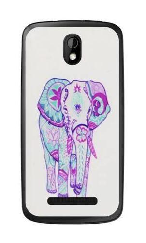 FANCY HTC Desire 500 słoń aztec