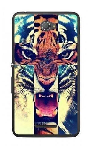 FANCY Sony XPERIA E4 tygrys krzyż