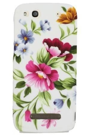 FLOWER Alcatel IDOL ALPHA pastelowe kwiatki