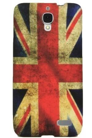 FLOWER Alcatel Idol flaga uk vintage