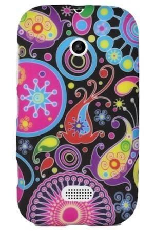 FLOWER Nokia LUMIA 510 kolorowy wzór meduza