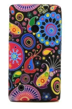 FLOWER Nokia LUMIA 530 kolorowy wzór meduza