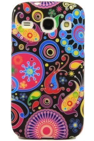 FLOWER Samsung GALAXY CORE plus kolorowy wzór meduza