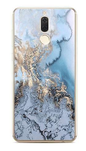 Foto Case Huawei Mate 10 Lite błękitny marmur