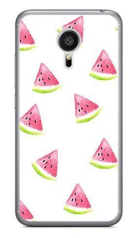 Foto Case Meizu MX5 białe arbuzy
