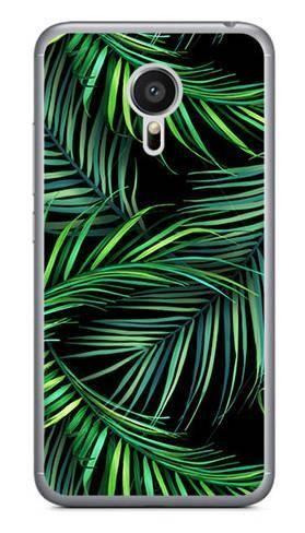 Foto Case Meizu MX5 czarne liście
