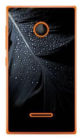 Foto Case Microsoft Lumia 435 czarne pióro