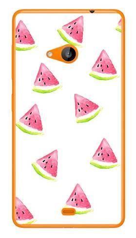 Foto Case Microsoft Lumia 535 białe arbuzy