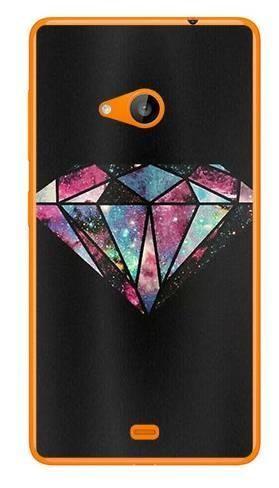 Foto Case Microsoft Lumia 535 kolorowy diament