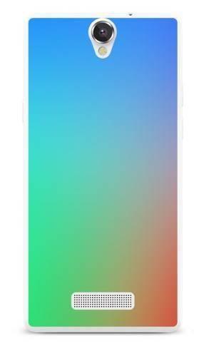 Foto Case MyPhone CUBE tęczowy gradient