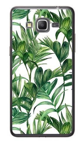 Foto Case Samsung GALAXY GRAND PRIME G530 liście tropikalne