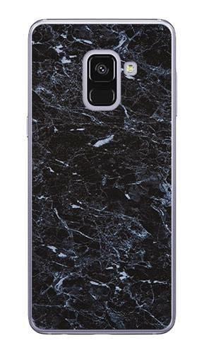 Foto Case Samsung Galaxy A5 2018 / A8 2018 czarny marmur