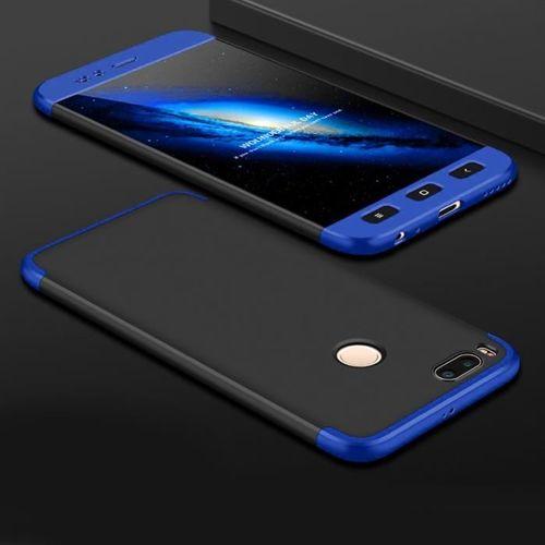 GKK 360 Protection Case etui na całą obudowę przód + tył Xiaomi Mi A1 / Mi 5X czarno-niebieski