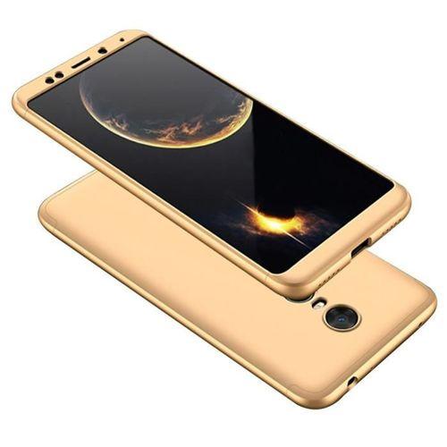 GKK 360 Protection Case etui na całą obudowę przód + tył Xiaomi Redmi 5 Plus / Redmi Note 5 (single camera) złoty