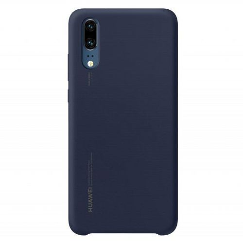 Huawei Silicon Case elastyczne silikonowe etui pokrowiec Huawei P20 niebieski (51992363)
