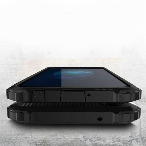 Hybrid Armor pancerne hybrydowe etui pokrowiec Huawei P20 Lite czarny