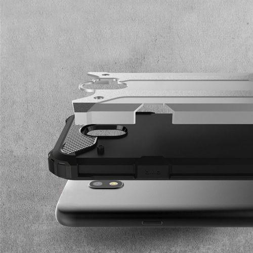 Hybrid Armor pancerne hybrydowe etui pokrowiec Samsung Galaxy J2 Pro J210 niebieski