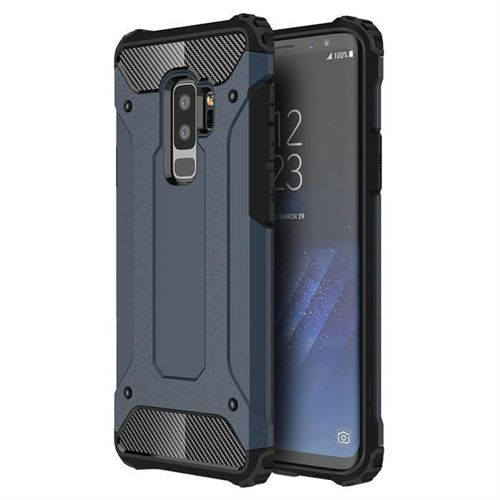 Hybrid Armor pancerne hybrydowe etui pokrowiec Samsung Galaxy S9 Plus G965 niebieski