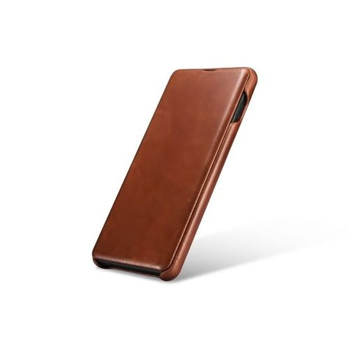 ICARER VINTAGE GALAXY S10+ PLUS BROWN