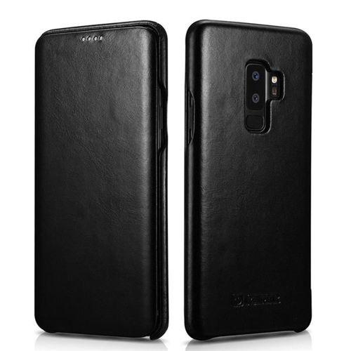 ICARER VINTAGE GALAXY S9+ PLUS BLACK