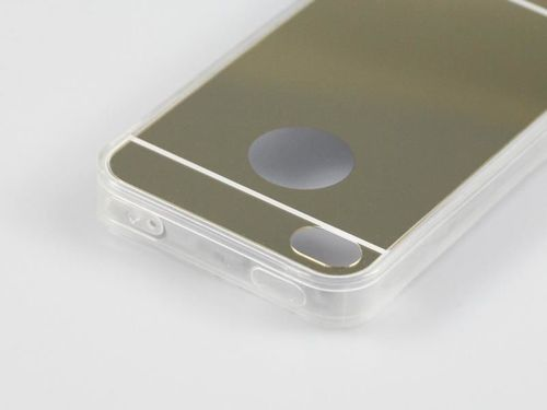 MIRROR TPU Samsung Galaxy J3 (2016) srebrny