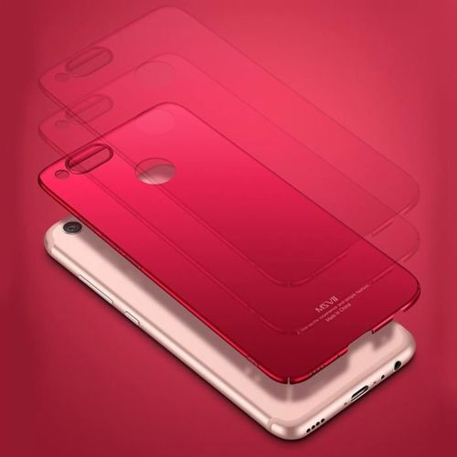 MSVII Simple ultracienkie etui pokrowiec Huawei Honor 7X niebieski