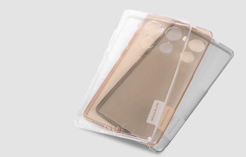 NILLKIN NATURE TPU Huawei MATE 8 szary
