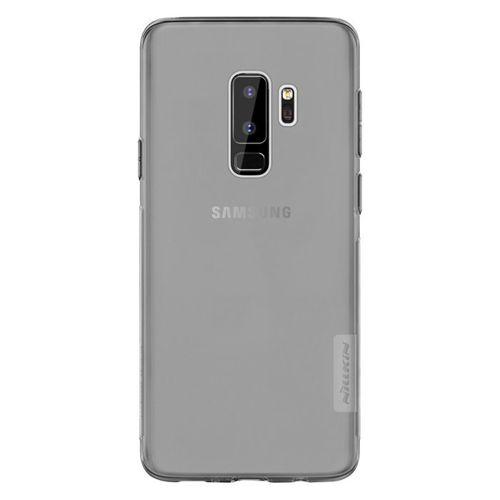 Nillkin Nature żelowe etui pokrowiec ultra slim Samsung Galaxy S9 Plus G965 szary