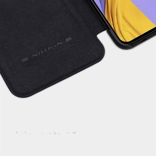 Nillkin Qin skórzana kabura etui Samsung Galaxy A51 czarny