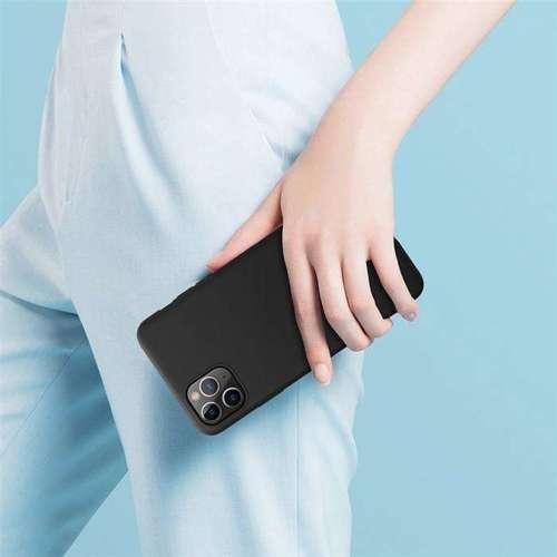 Nillkin Rubber elastyczne silikonowe etui pokrowiec iPhone 11 Pro czarny