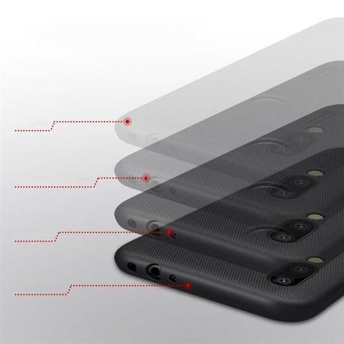 Nillkin Super Frosted Shield wzmocnione etui pokrowiec + podstawka Xiaomi Redmi 7 czarny