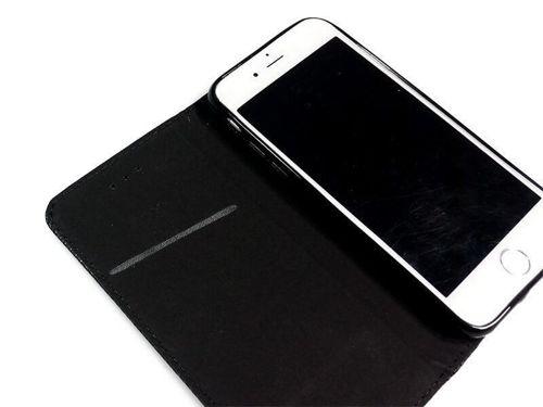 PORTFEL magnetyczny Motorola MOTO E6 PLUS czarny