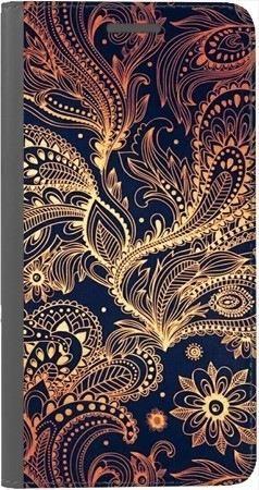 Portfel DUX DUCIS Skin PRO art deco złote na Huawei Honor 9 Lite